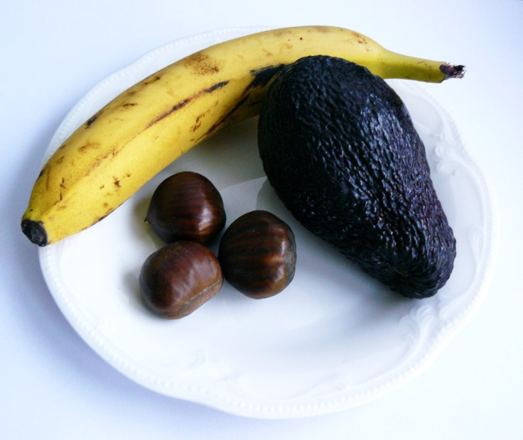 awokado banan schoko krem