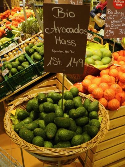 Avocado hass bio shop