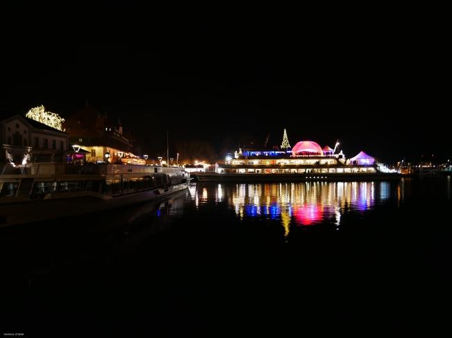 Adwent w Konstanz, przystan