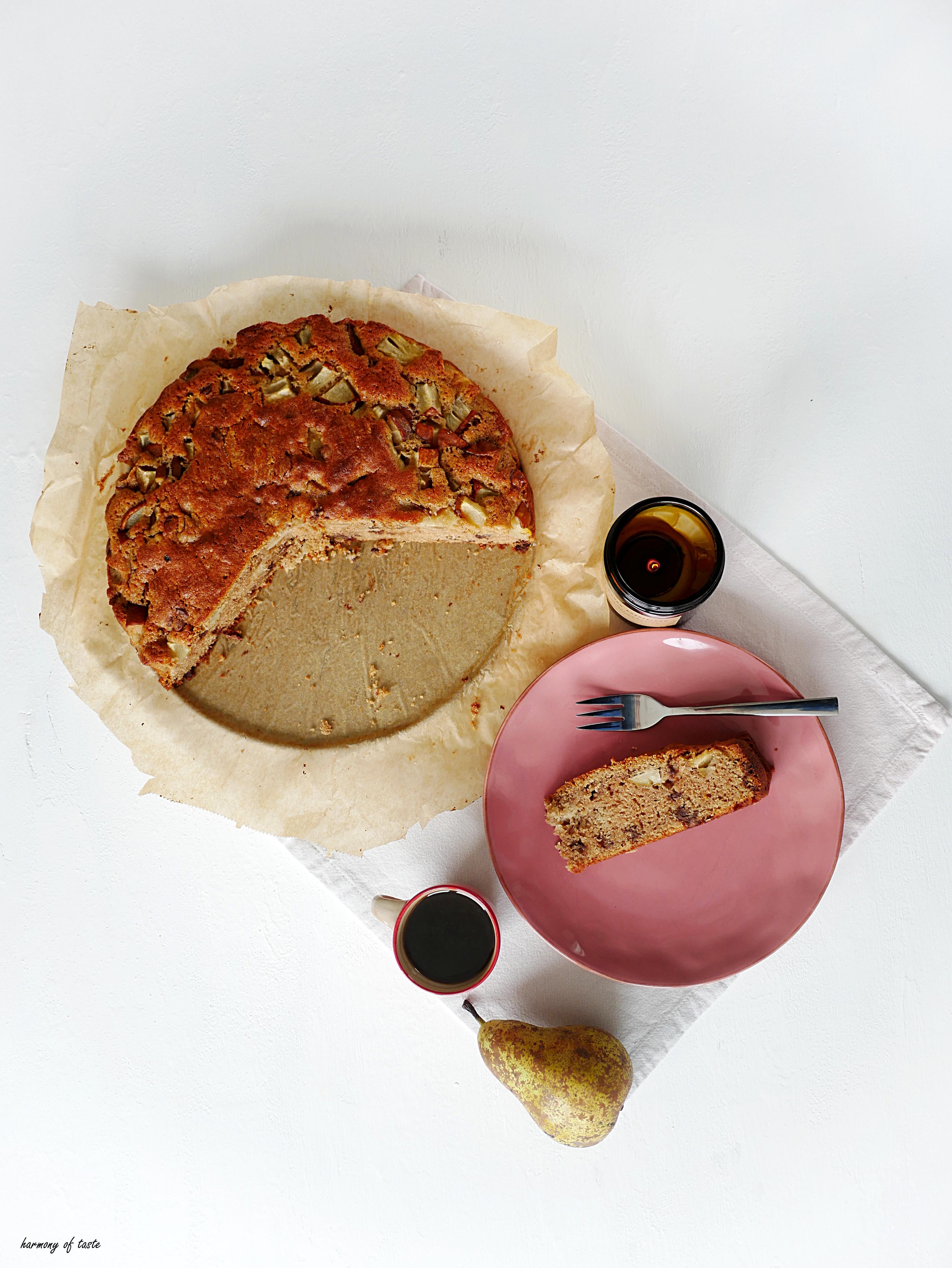 gruszka kardamon ciasto 1