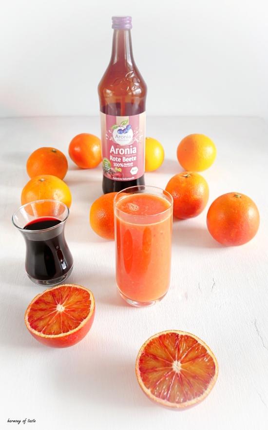 sok czerwone pomarancza i aronia sok 1