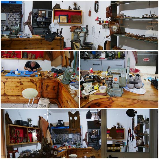 leather workshop
