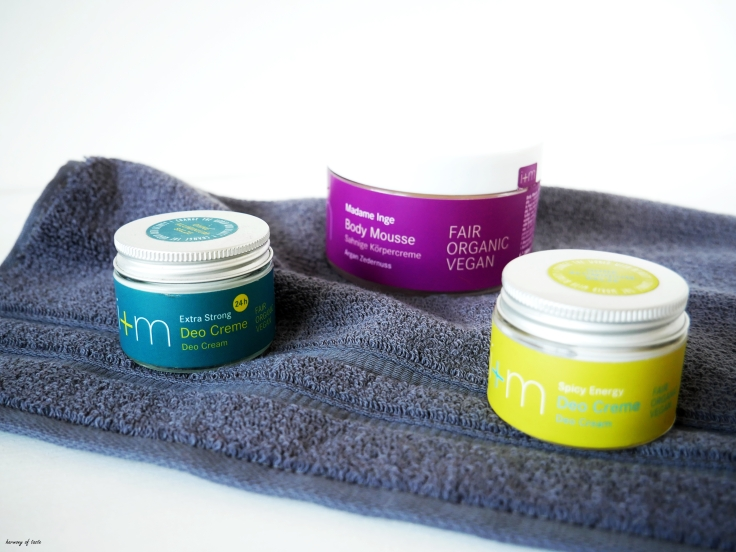 cream deo i+m and body butter