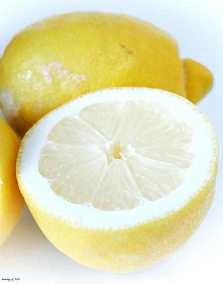 detox drink lemon